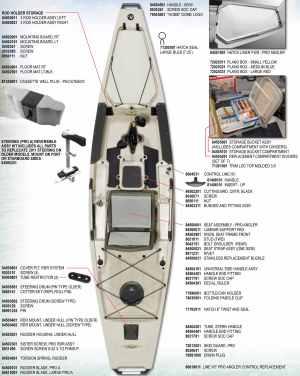 Pro Angler 12 & 14 Parts (Pre 2013)