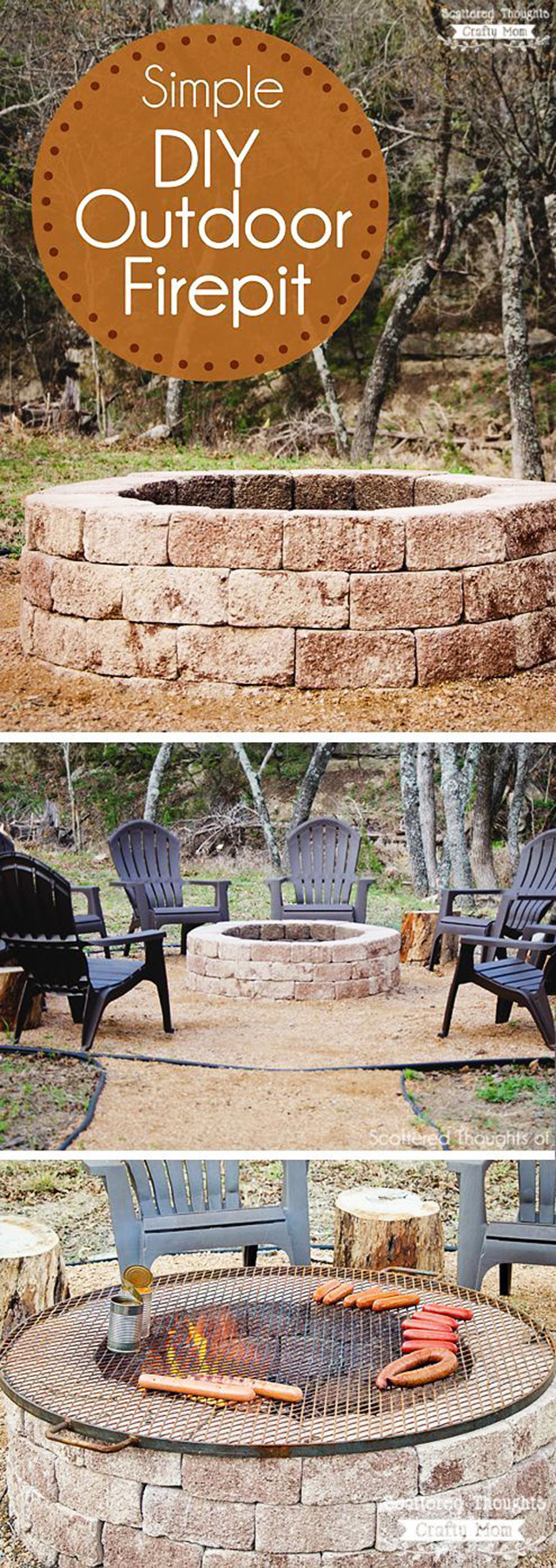 27 surprisingly easy diy bbq fire pits