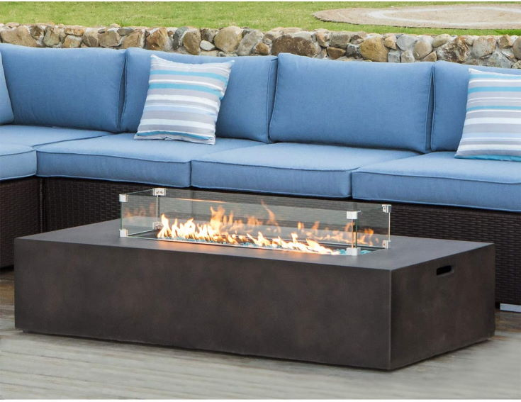 15 Propane Patio Fire Pits With Table, Propane Patio Fire Pits