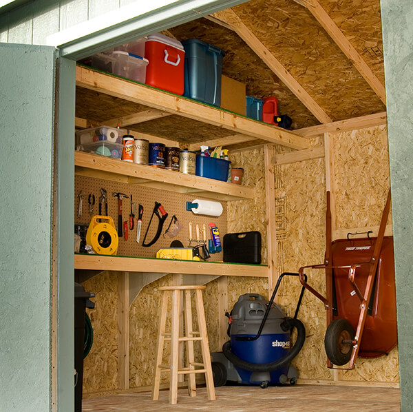 worshop shed with loft