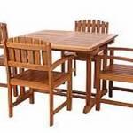 Teak Butterfly Extension Table Set Td72 20