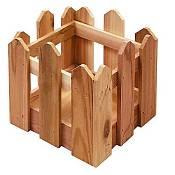 Cedar Fence Planter