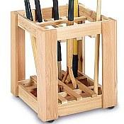 Cedar Garden Tool Holder