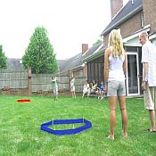 Outdoor Golf Chip Shot Challenge Game