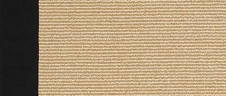 South Beach Rug - Black (weave closeup)