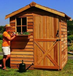 Cedar Storage Sheds and Garden Sheds