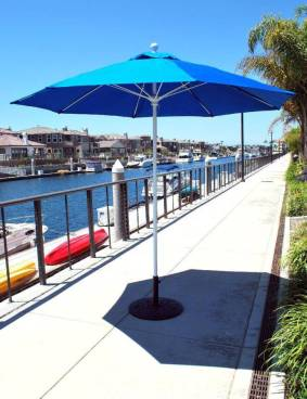Stay Cool in the shade of your Patio Umbrella