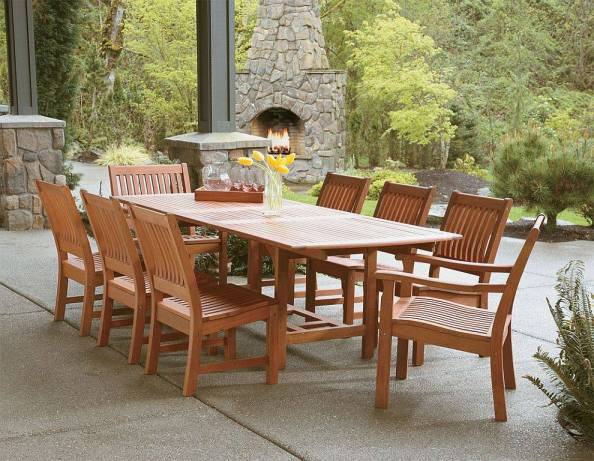 Eucalyptus Outdoor Dining Set