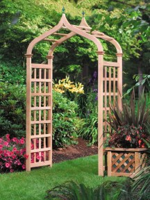 Example of a Garden Arbor - Casablanca