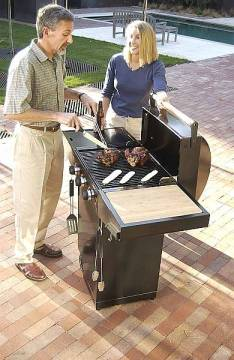 Minden Outdoor Propane Gas Grill