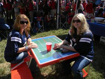 Football Folding Picnic Table