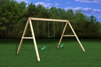 Do it yourself wooden swing sets solutioingenieria Gallery