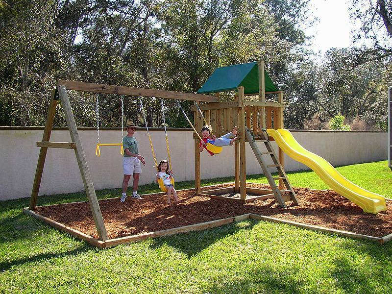 Wooden Swing Set Kits
