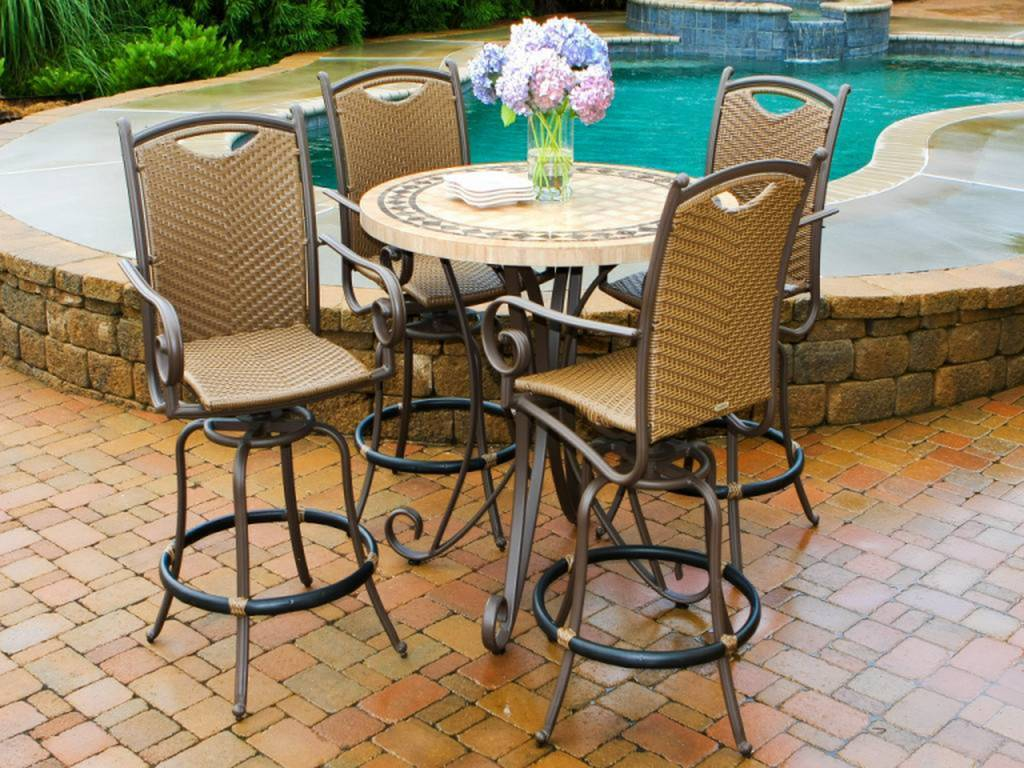 Small Patio Set Umbrella