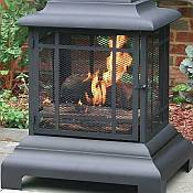 Outdoor Fireplace / Firehouse