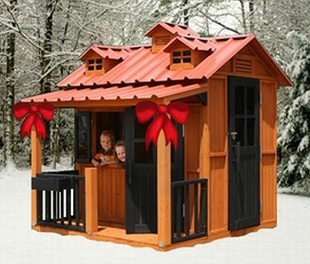 outside playhouses for kids