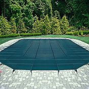 Mesh Safety Cover / Pool Size 12ft  x 27ft  Rectangle / 12 yr