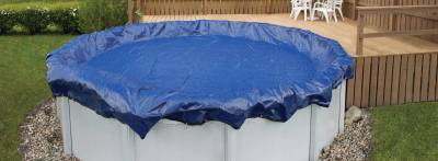 Above Ground Pool Cover with Air Pillow in Middle