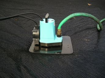 Cover pump on Above ground pools