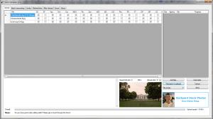 Upload tab of StockUploader for stock agency uploads