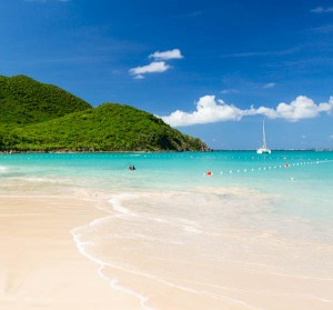 Anse Marcel beach on St Martin