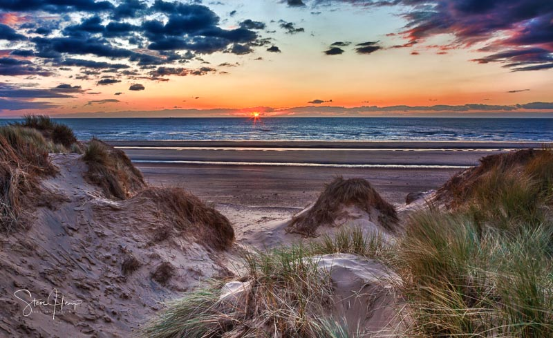 Sale on Photo4Me in the UK of a print of Formby beach