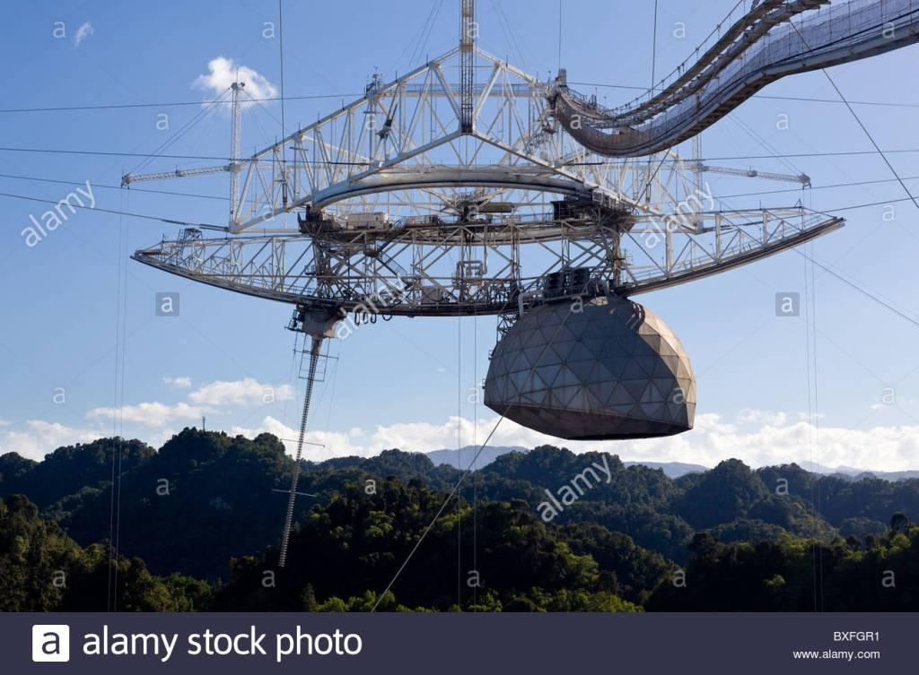 Arecibo Observatory on Puerto Rico