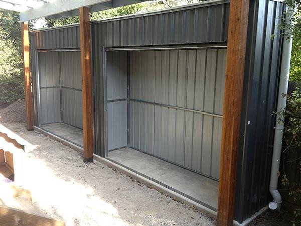 Products Backyard World Roller Door Storage Sheds
