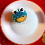 Krümelmonster (Cupcake)