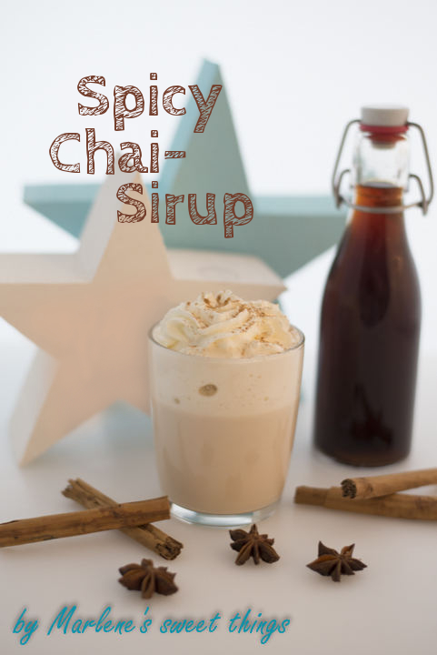 spicy Chai-Sirup