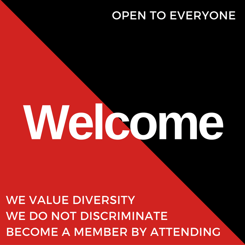 BACN is open to everyone. We value diversity. We do not discriminate. Become a member by attending.