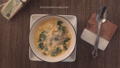 Low Carb Easy Zuppa Toscana