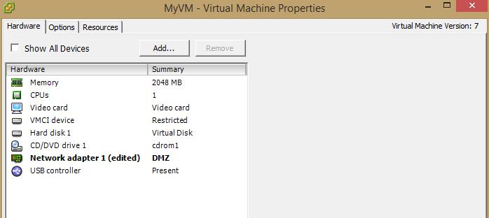 adjust machine settings