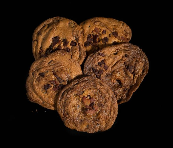 Bacon Bacon - Bacon Candied Bacon Chocolate Chip Cookies