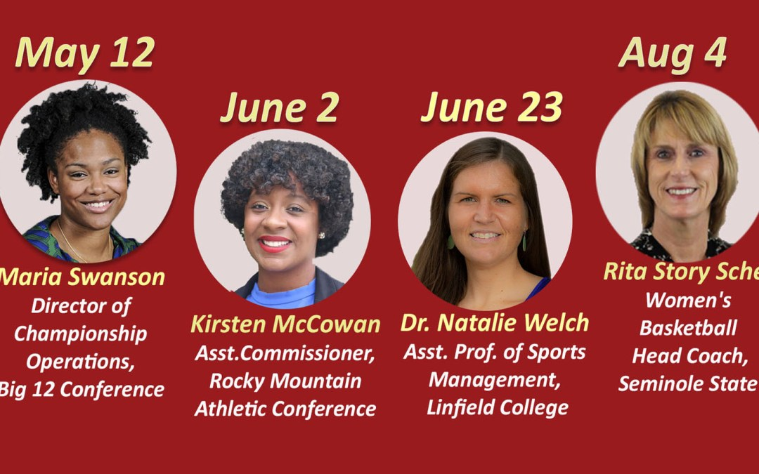 Bacone Athletics to host four Women in Sport webinars
