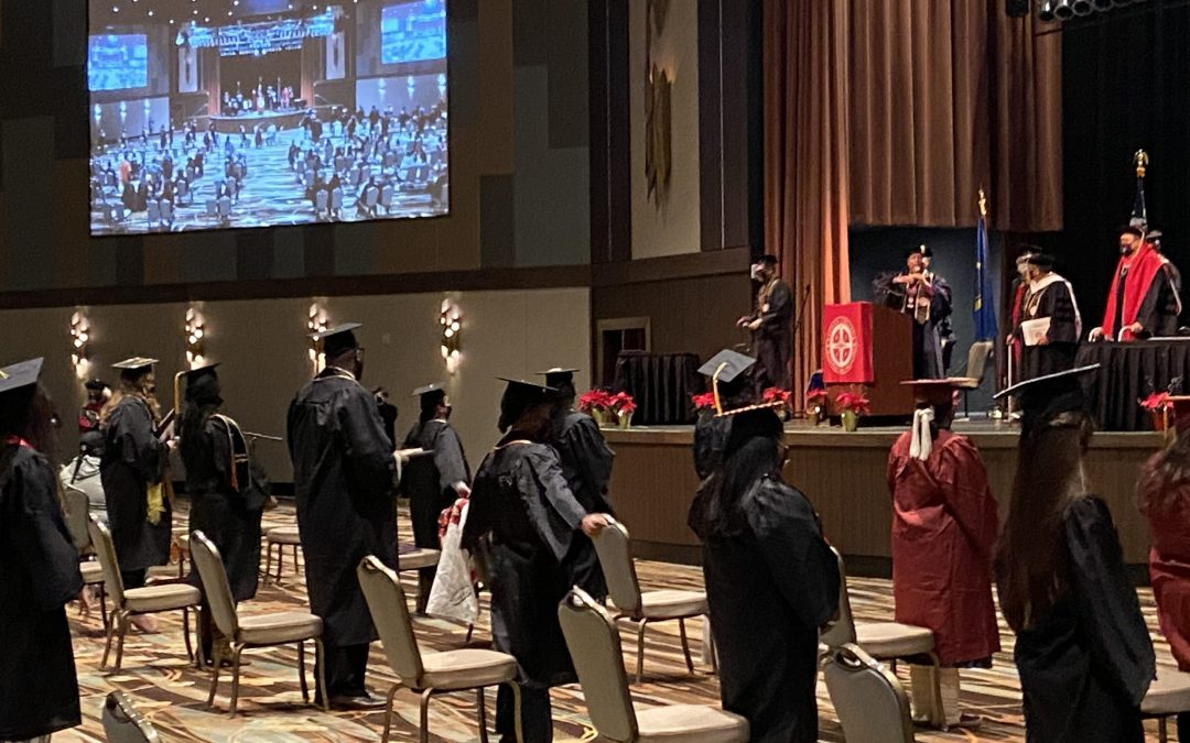 Bacone College hosts hybrid 2020 Commencement Ceremony