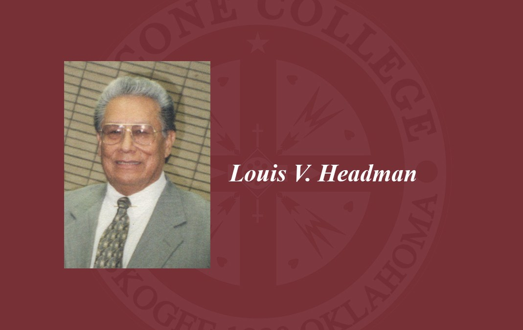 Louis V. Headman to receive Honorary Doctorate at Bacone College Spring 2021 Commencement