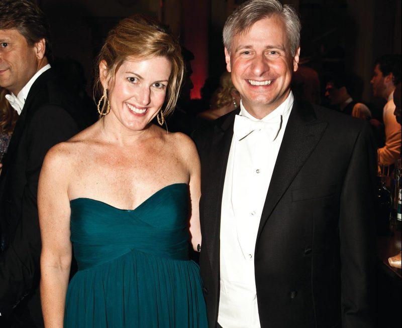 Jon Meacham and his wife Margaret Keith Smythe Meacham