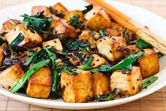 Hmmm. Tofu... yum, yum, YUCK!
