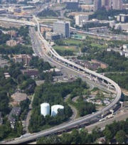 Silver Line nears completion near Tysons.