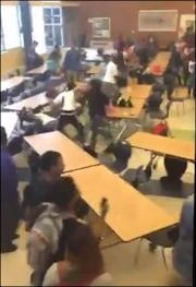 """Image capture from YouTube posting, """"Crazy Ass Varina Fight."""""""