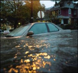 Flooding in Portsmouth. Image credit: Virginia Newsletter