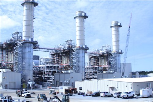 Dominion Virginia Power's gas-burning plant in Brunswick County opened this year. The Greensville power station, scheduled to open in 2018, will be even more cost efficient.