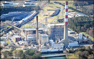 Yorktown Power Station. Photo credit: Daily Press