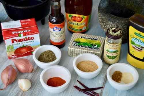Rezept für selbstgemachte Memphis Style BBQ Sauce