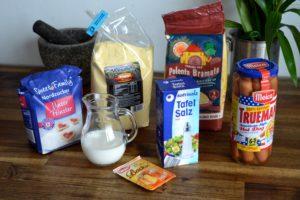 Corn Dogs Selbermachen - Die Zutaten