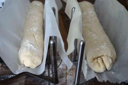 Baguette und Sandwich backen