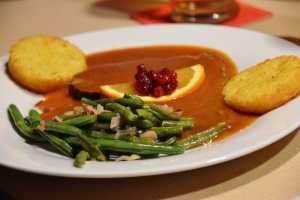 Rostatt Alpenhof Pension Abendessen