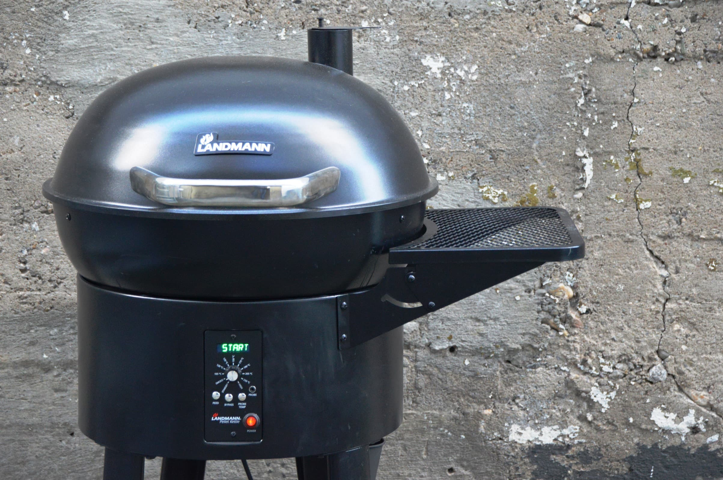 Landmann Gasgrill Rezepte : Angegrillt landmann pellet kettle im test bacon zum steak
