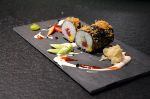 Food.Blog.Meet - Deep fried sushi rolls mit Christian Henze